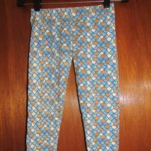 EPIC THREADS mermaid legging pants kid size 5